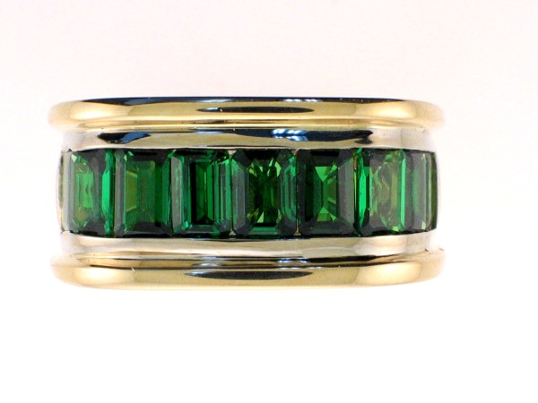 Men's Tsavorite Rings