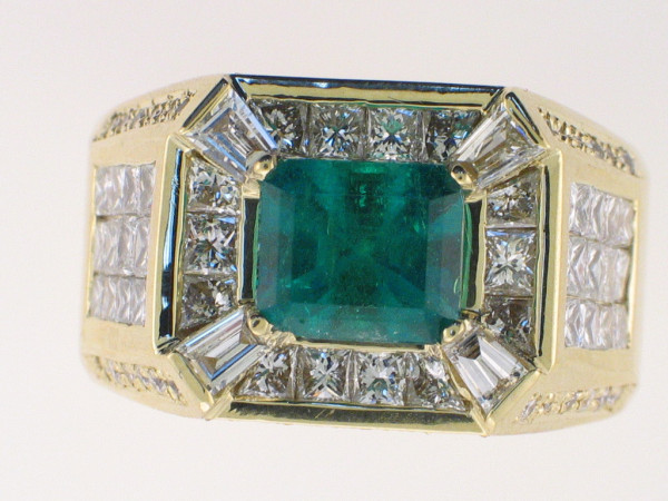 Men's Emerald Rings